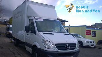 Van and man team in Ickenham