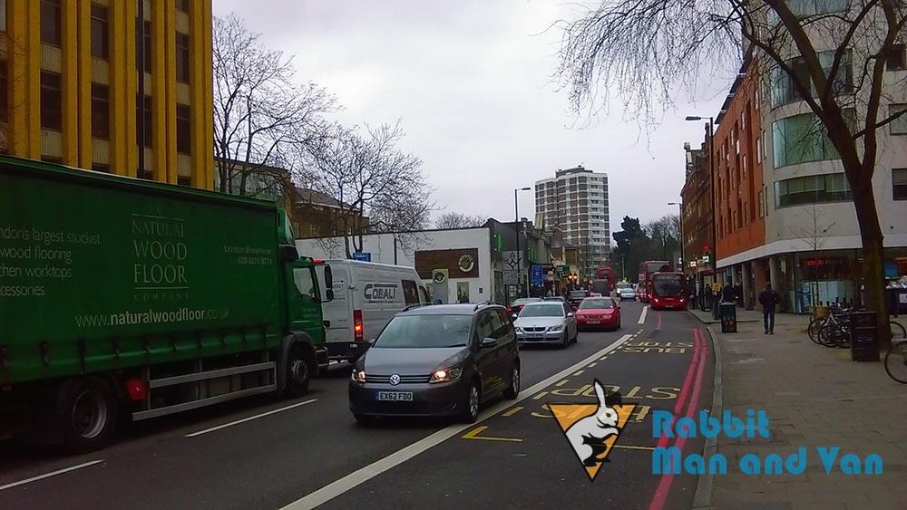 Islington - streeet traffic