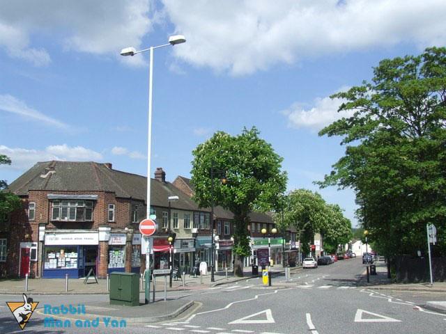 Station Road in Harold Wood